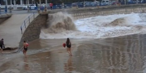 WATCH: Woman Taunts Mother Nature, Loses | Prozac Moments | Scoop.it