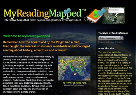 MyReadingMapped™- interactive maps of historic events | History | Scoop.it