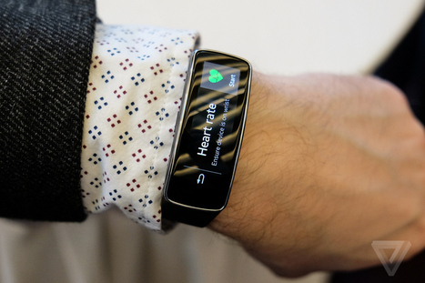 Samsung dives into fitness wearables with the Gear Fit | The Verge | Lifestyle Blogging | Scoop.it
