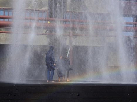Visitors Get Soaking Wet by a Towering Shower in Germany | Le It e Amo ✪ | Scoop.it