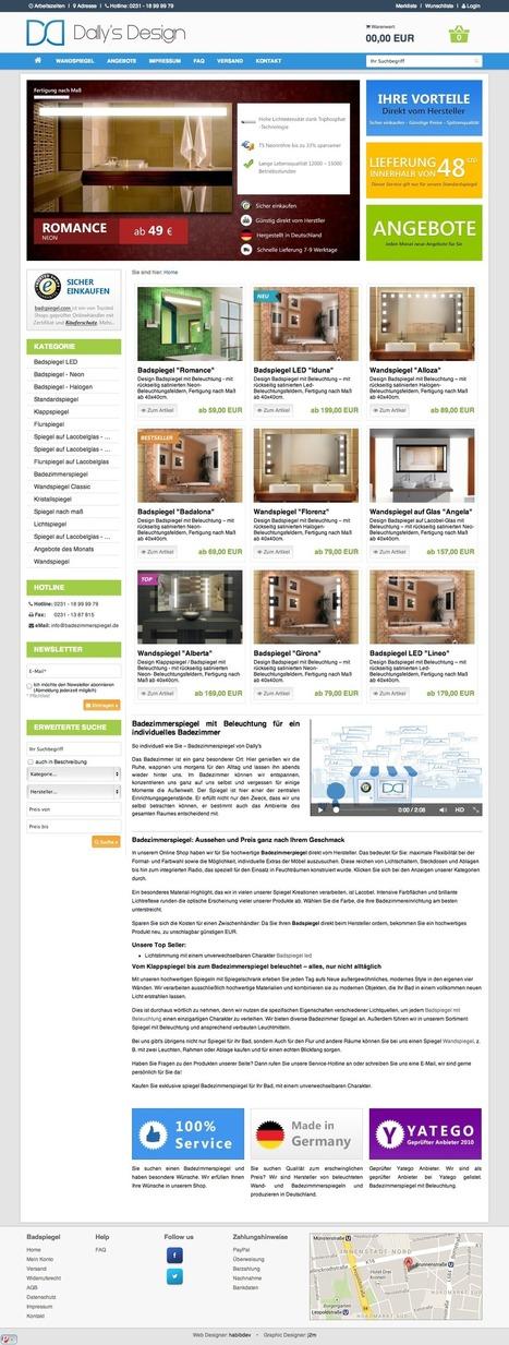 Badspiegel - Badezimmerspiegel | Dally´s DESIGN | home | Scoop.it