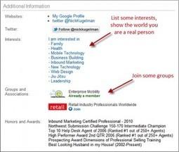 The Ultimate LinkedIn Profile Checklist | LinkedIn Marketing Strategy | Scoop.it