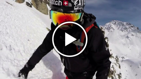 Forest fun - Xavier De Le Rue | Freeride skiing | Scoop.it