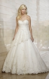 Ball Gown Wedding Dresses - theLuckyBridal.com | Lace Wedding Dresses | Scoop.it