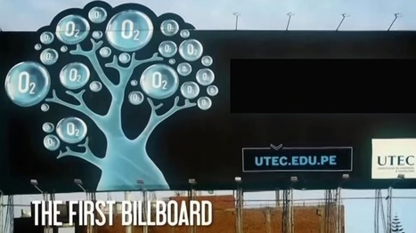 Amazing Billboard that literally eats Air Pollution | MarketingHits | Scoop.it