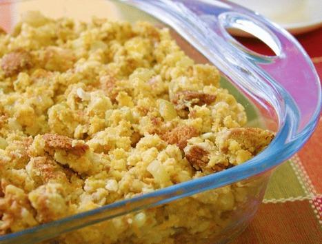 Thanksgiving Vegan Cornbread Stuffing with Gravy   My Vegan recipes   Scoop.it