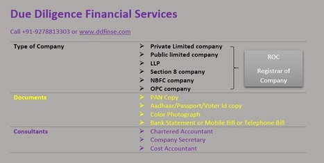How to get company registered in Delhi | Due Diligence Financial Services | Company Registration in Delhi | Scoop.it