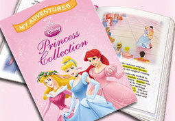 Disney Princess Personalised Book from Buyagift | Children's book view | Scoop.it