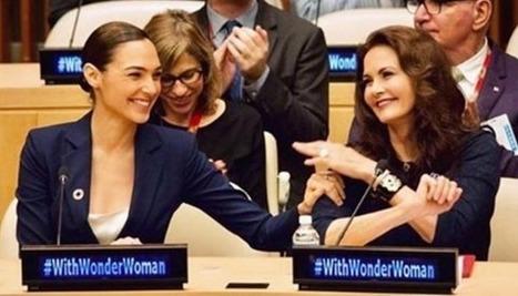 Mulher-Maravilha se torna embaixadora da ONU e promove encontro entre Gal Gadot e Lynda Carter | Edutenimento | Scoop.it