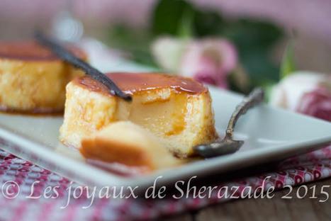 Flan au lait concentré sucré facile | Les recette de les joyaux de sherazade | Scoop.it