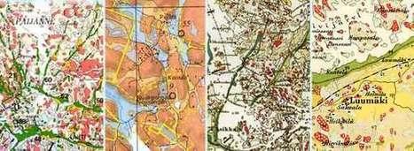 Tietoaineistot - maaperäkartan käyttöopas - GTK   TVT-sovelluksia ja linkkejä   Scoop.it