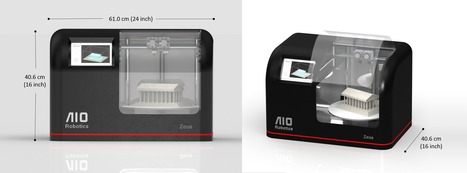 Zeus multifunction 3d printer plus | AIORobotics | The Robot Times | Scoop.it
