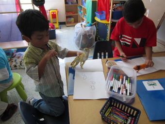 Writing in Kindergarten « Catching Readers Before They Fall | Writing ideas | Scoop.it