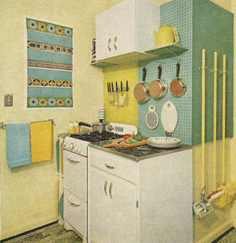 Vintage Home Decorating: 1960s Kitchens | Antique Alter Ego | Vintage and Retro Style | Scoop.it