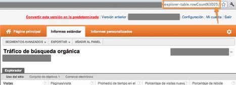 Cómo exportar más de 500 filas en el nuevo Google Analytics | Web Analytics and Web Copy | Scoop.it
