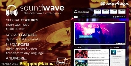 SoundWave v1.9 – The Music Vibe WordPress Theme Free Download   Free Games And Softs   Scoop.it