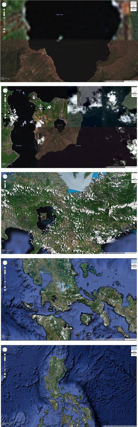Une île dans un lac dans une île dans un lac dans une île | geospatial | Geomatic | Scoop.it