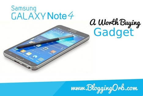 Samsung Galaxy Note 4 Rumors and Specifications | Blogging Orb | Scoop.it
