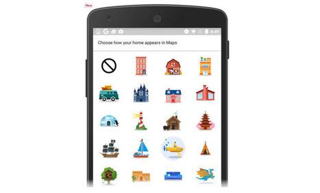 Google Maps para Android suma coloridos emoticones para personalizar nuestra casa y trabajo | Avances TIC. Didáctica | Scoop.it