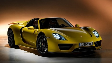 Porsche 918 Spyder: velocidad máxima, precio y especificaciones en Latam Review | Cars Reviews and News | Scoop.it