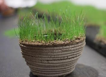 A 3D grass printer that lets you print a garden in any shape (video) | FabLab - DIY - 3D printing- Maker | Scoop.it