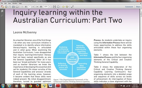 Inquiry Learning Within the Australian Curriculum : Part Two | Inquiry Learning | Scoop.it