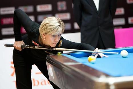 Allison Fisher Completes Mighty Team West – Pool Lessons, Billiard Videos, Pool Games, Live Streaming | Pool & Billiards | Scoop.it