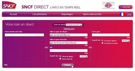 Intégrer les horaires des trains nationaux et des TER dans sa domotique | Soho et e-House : Vie numérique familiale | Scoop.it
