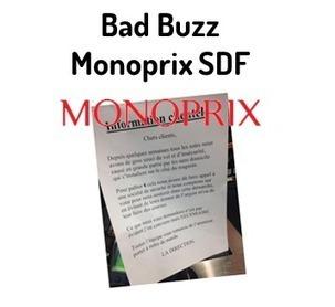 Bad Buzz Monoprix – SDF : d'un simple tweet à la presse nationale | Réseaux sociaux LIVE | Scoop.it