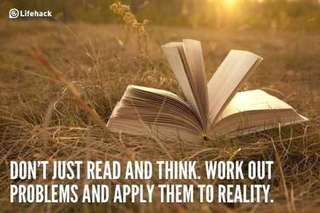 30sec Tip: Do You Spend Too Much Time on Reading and Thinking?   Radio Show Contents   Scoop.it