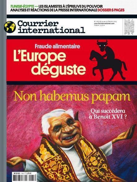 Hebdo n° 1163 du 14 février 2013   Courrier international   Semaine de Presse au CDI André MALRAUX   Scoop.it