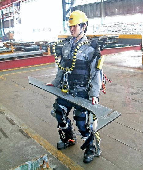 Korean Shipbuilder Testing Industrial Exoskeletons for Future Cybernetic Workforce | Sheboygan | Scoop.it