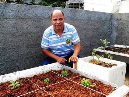 Urban Agriculture Sprouts in Brazil's Favelas | Maps for urbanization | Scoop.it