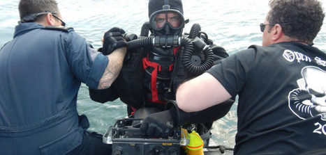 Canadian navy divers help in search for old sea mines | All about water, the oceans, environmental issues | Scoop.it