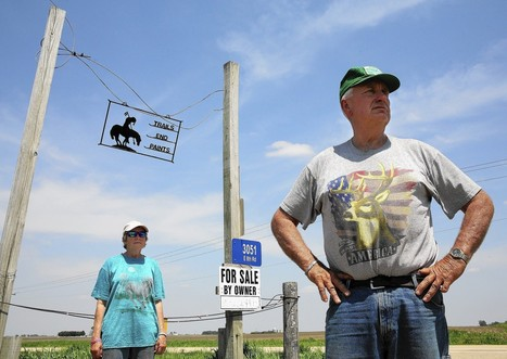 Mining for fracking sand drives some Illinois farmers from land   Sustain Our Earth   Scoop.it