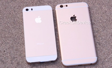 Alleged iPhone 6 housing makes another on-screen appearance, ugly antenna breaks still present (Video) | Apple | Scoop.it