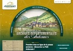 GénéInfos: Ardennes : un nouveau look pour le site des archives   Rhit Genealogie   Scoop.it