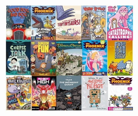 Neill's blog: Comics and Literacy, part 1: Why Reading Comics Matters | 21st Century Literacy and Learning | Scoop.it