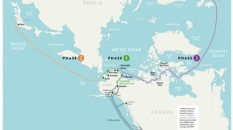 An Internet Cable Will Soon Cross the Arctic Circle | Sustain Our Earth | Scoop.it