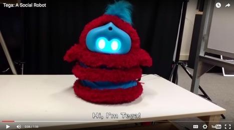 Tega : Un robot éducatif qui reconnaît les émotions des enfants   Robotique & Intelligence artificielle   Scoop.it