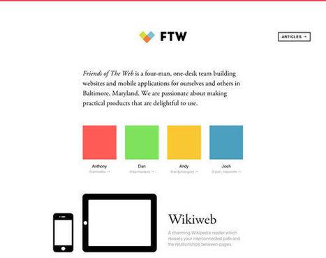 23 Examples of Flat Web Design | Inspiration | Design | Scoop.it