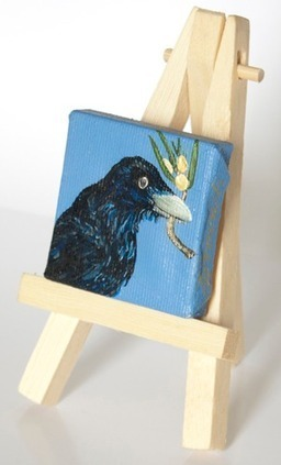 Paint your own wearable miniature art with Linda Storm - DIY Santa Fe - Creative Tourism -Art workshops, Art programs, Art vacations, and Experiences in Santa Fe, New Mexico | Workshops in Santa Fe, New Mexico | Scoop.it