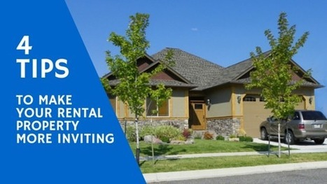 Four Tips To Make Your Rental Property More Inviting | Connect Realty - Rental & Property Management in Tauranga | Scoop.it
