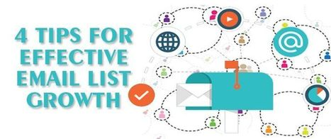 4 Tips For Effective Email List Growth | AlphaSandesh Email Marketing Blog | best email marketing Tips | Scoop.it