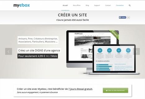 Une nouvelle solution pour créer son site en quelques clics | entreprises : outils utiles | Scoop.it