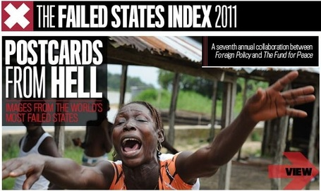 The 2011 Failed States Index | Africa and Beyond | Scoop.it