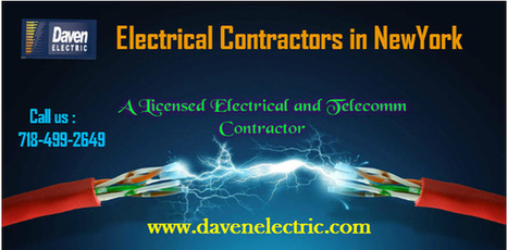 NYC Daven Electric Contractors | Daven Electric Inc - A NYC Electrician | Scoop.it