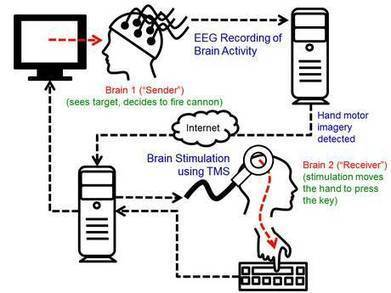 Human-to-human brain interface - UW researcher controls colleague's movement | Science News About Social Interaction | Scoop.it