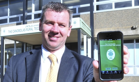 Canobolas' school app in a class of its own - Central Western Daily   moodle   Scoop.it