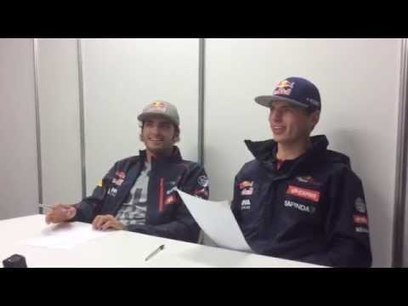Video: Kvyat teaches Toro Rosso pair Russian | F 1 | Scoop.it